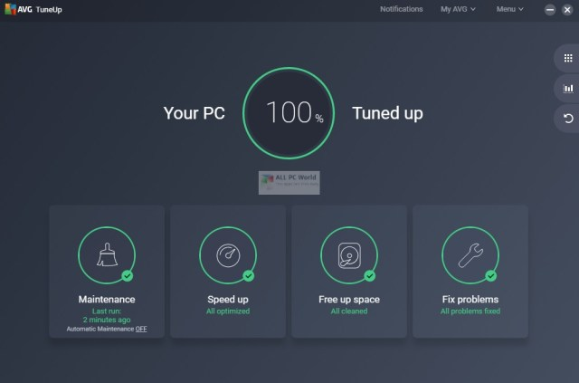AVG PC TuneUp 19.1 Free Download