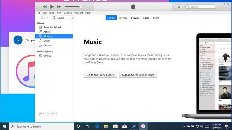 Apple iTunes 12.10.8.5 Download