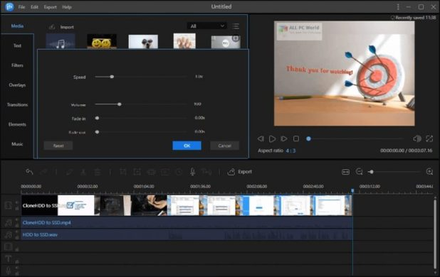 EaseUS Video Editor 1.6 One-Click Download