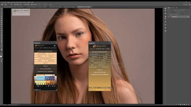 Beautify for Adobe Photoshop 1.6 Full Version Download