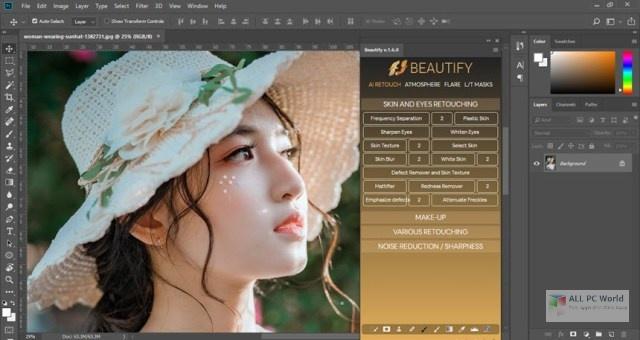 Beautify for Adobe Photoshop 1.6 Offline Setup