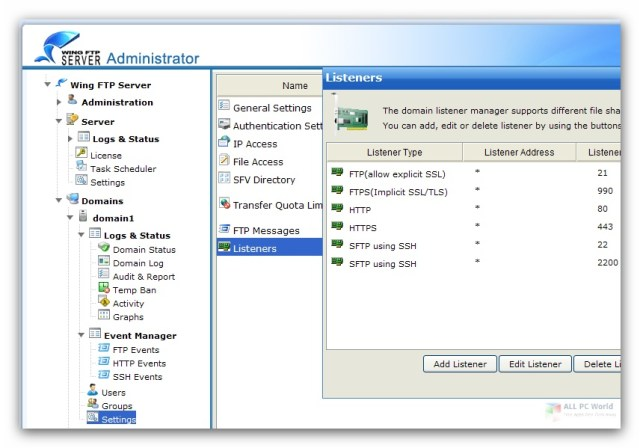 Wing FTP Server Corporate 6.4 One-Click Download