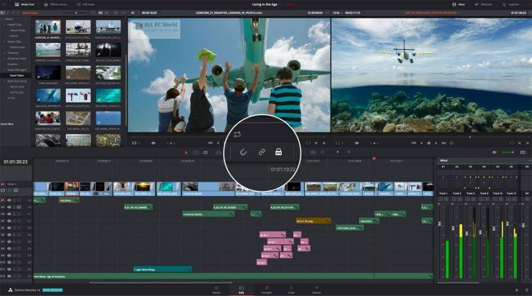 Blackmagic Design DaVinci Resolve Studio 17.3 for Windows 11