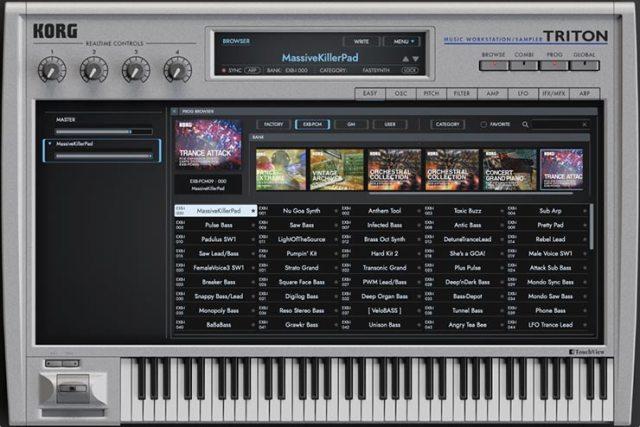 KORG Triton 1.3.3 for Mac Free Download
