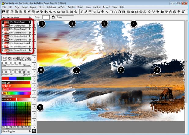 TwistedBrush Pro Studio 25.0 Free Download