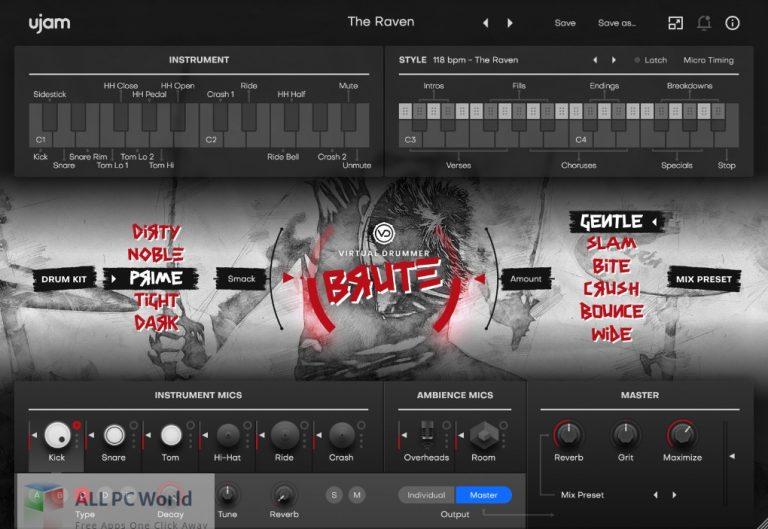 UJAM-Virtual-Drummer-BRUTE-2-Free-Download