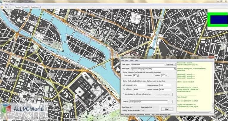 AllMapSoft- Offline Map Maker for Free Download