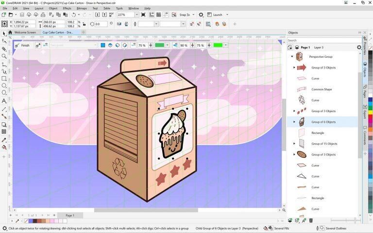 CorelDRAW Graphics Suite 2021 Free Download