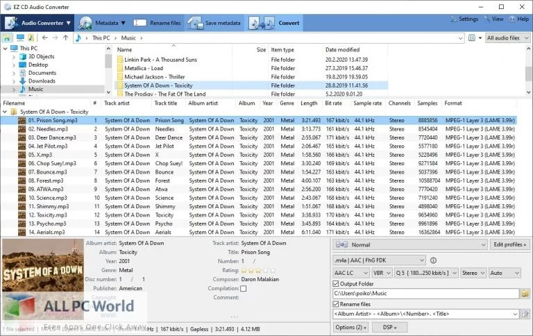 EZ CD Audio Converter 9 Free Download allpcworlds