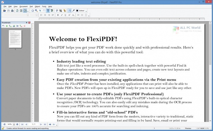 FlexiPDF Pro 2022 Free Download