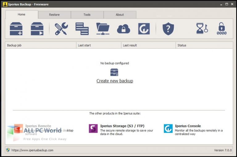 Iperius Backup 7 Free Download