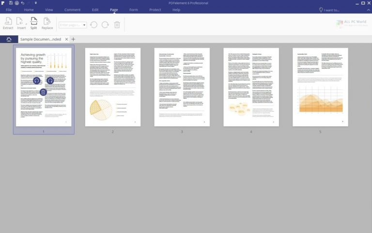 Wondershare PDFelement Professional 8 Download allpc world