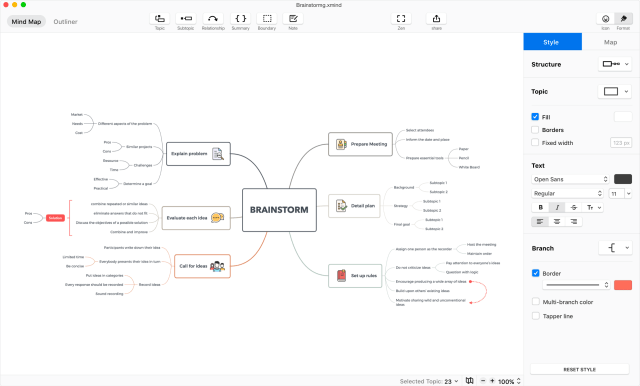 XMind 2021 Mind Mapping Free Download