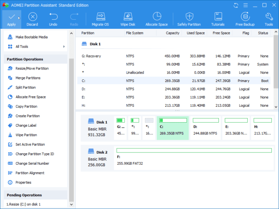 AOMEI Partition Assistant 9 Offline Installer Free Download