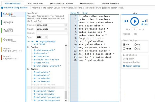 Keyword Researcher Pro Free Download