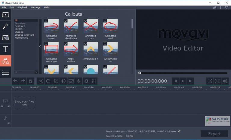 Movavi Video Editor Plus 22 Free Download