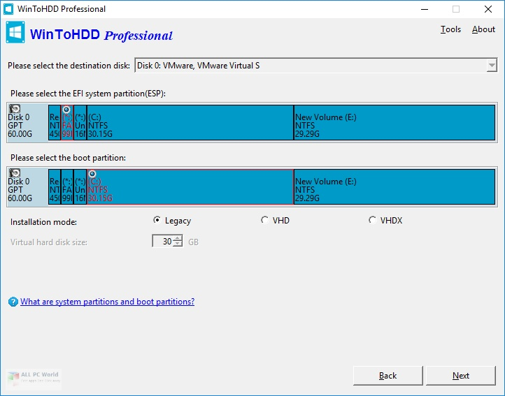 WinToHDD 5 Free Download