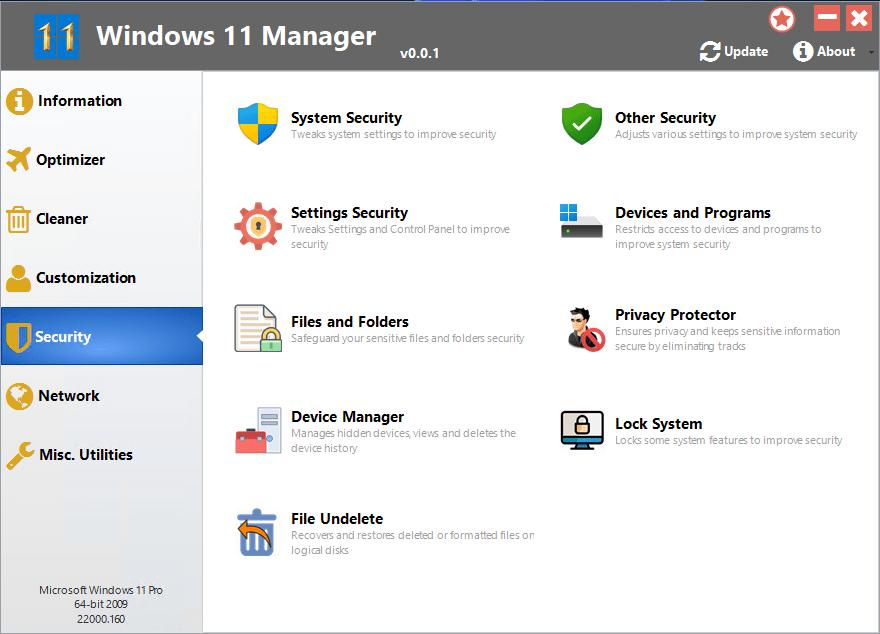 Yamicsoft Windows 11 Manager Free Download