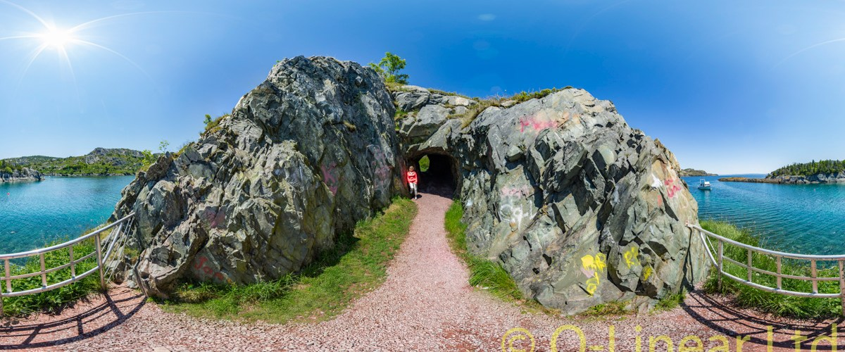 Brigus, NL Tunnel - 360VR
