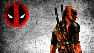 Attachment file for Cool Deadpool Wallpaper with Logo in High Resolution