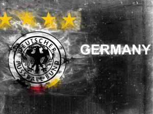 Artistic Germany National Football Team logo