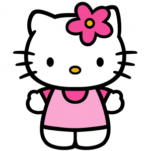 Attachment file for Hello Kitty ClipArt Download 1607x1607