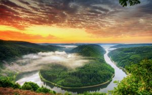 Free River Pictures with The Saar Loop in Germany