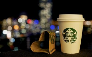 Photo of Starbucks Wallpaper in Close Up Cup