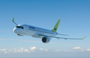 4K Photos of Airplane Images with Airbaltic Bombardier C Series CS300
