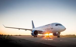 Bombardier C series CS100 for Airplane Images Wallpaper