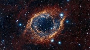 Cool Galaxy Backgrounds with Helix Nebula Snail