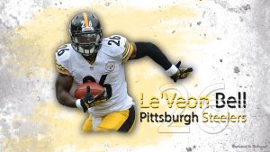 Attachment for Le Veon Bell Steelers Wallpaper