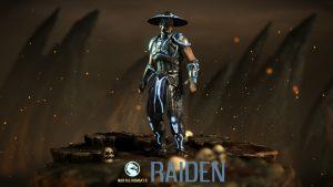 Attachment for Mortal Kombat X Characters - Raiden Wallpaper