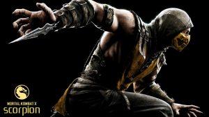 Attachment for Mortal Kombat X Characters - Scorpion Wallpaper