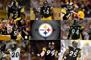 Attachment for Pittsburgh Steelers wallpapers with players and logo - the National Football League (NFL)