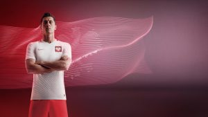 Attachment for Robert Lewandowski Poland Jersey Nike Wallpaper