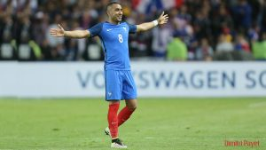 Dimitri Payet France Football Squad 2016