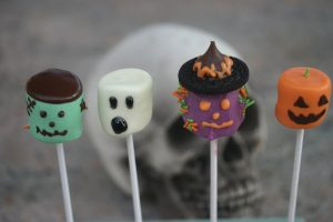 Attachment for 37 Cute Stuff Wallpapers - Marshmallow Halloween