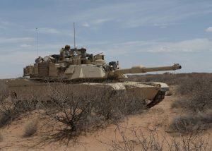 Army Images 3 - M1 Abrams tank in defensible position