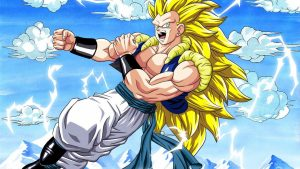 Attachment for Dragon Ball Z Wallpaper 14 of 49 - Super Saiyan Level 3