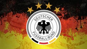 Attachment for Germany Football Logo with abstract Flag