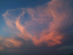 Attachment for Heart Shaped Cloud 25 of 57 - Love Cloud in Sunset