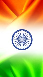 India Flag for Mobile Phone Wallpaper 11 of 17 - Tricolour India Flag
