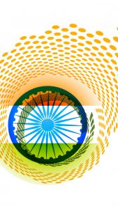 Free India Flag for Mobile Phone Wallpaper 9 of 17 - Creative Tiranga