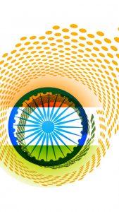 Free India Flag for Mobile Phone Wallpaper 9 of 17 - Creative Tiranga