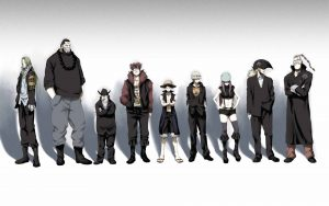 Attachment of One Piece Wallpaper - The Straw Hat Pirates Crew in Casual Style