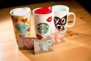 Picture of Special Valentine's Day Starbucks Cup for Wallpaper