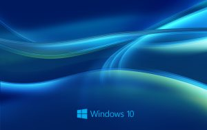File attachment for Windows 10 Wallpaper HD in Blue Abstract with New Logo
