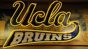 Logo of UCLA Wallpaper in 4K
