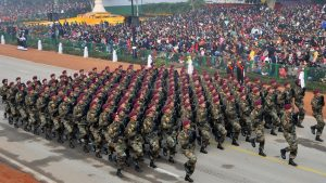 Marching Contingent of Parachute Regiment Indian Army in Republic Day Parade